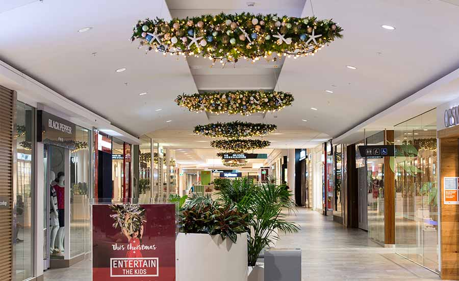 Warriewood shopping centre christmas decorations for International decor outlet corp