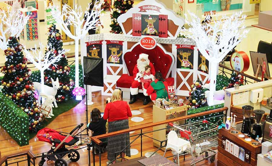 Leichhardt shopping centre Santa Set