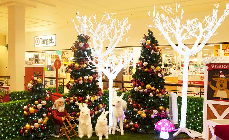 Leichhardt shopping centre Christmas decorations