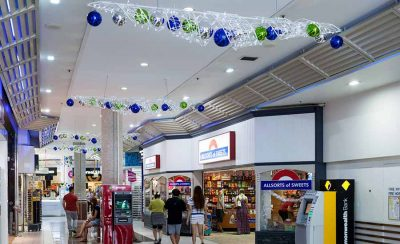 Surfers Paradise Shopping Centre Christmas Decorations