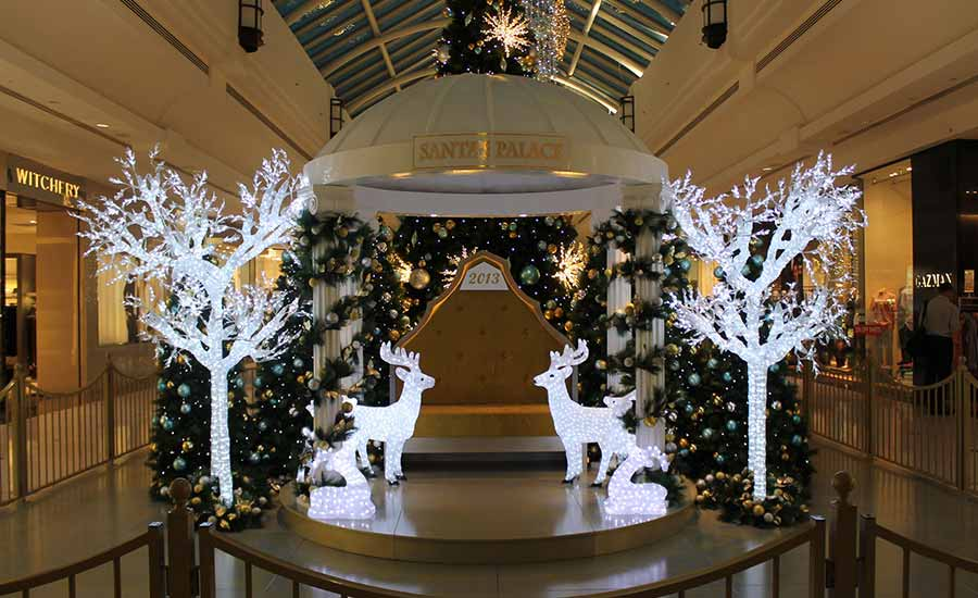 The Glen Shopping Mall Christmas Decorations