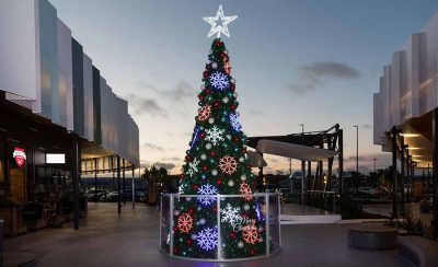 Tweed Shopping Centre Outdoor Christmas Tree