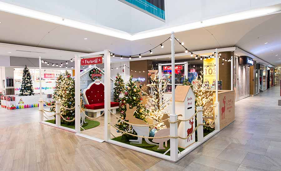 Warriewood Shopping Centre Christmas Decorations