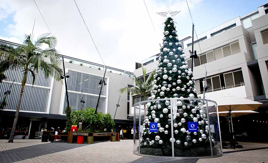 Cammeray Outdoor Commercial Christmas Tree And Decorations