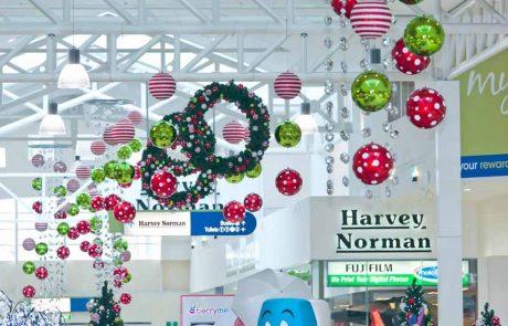 capalaba shopping mall Christmas decorations
