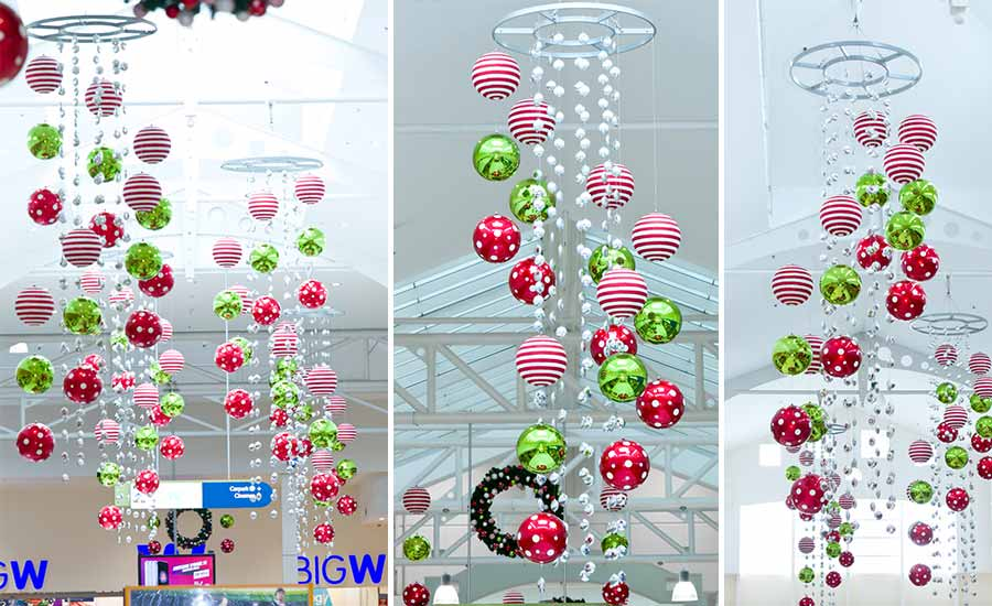 capalaba shopping mall Christmas decorations