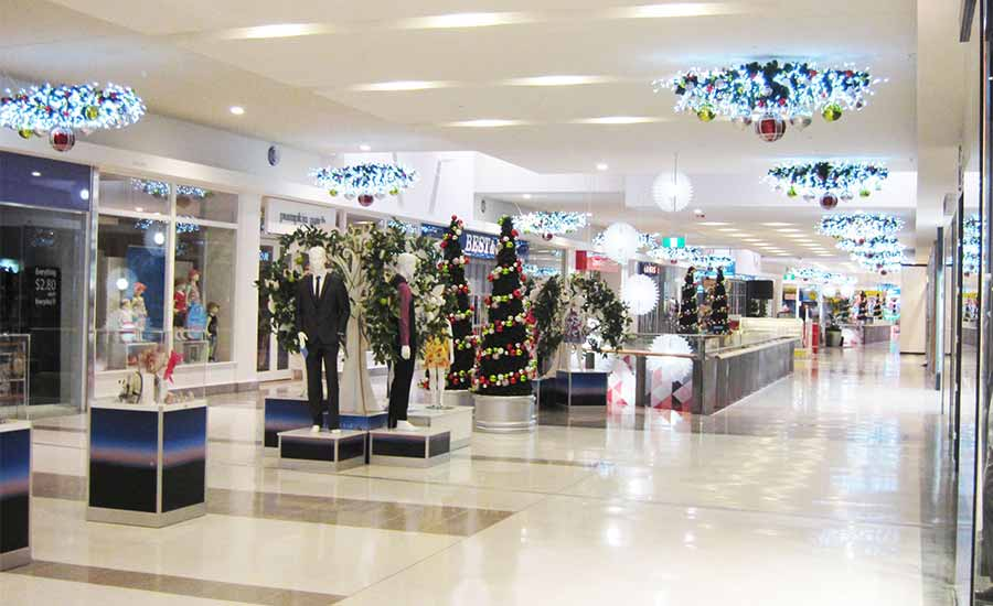 merrylands shopping mall Christmas decorations