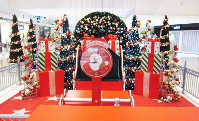 merrylands shopping mall Santa Sets