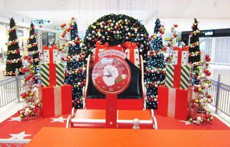 merrylands shopping mall Santa Sets