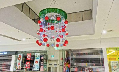 Mt Ommaney Shopping Centre Christmas Decorations