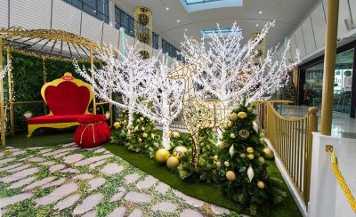 Rhodes Shopping Centre Christmas Decorations
