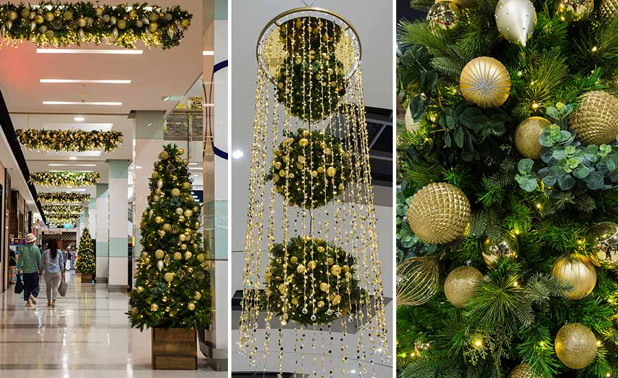 Commercial Christmas Decorations.Rhodes Shopping Centre Commercial Christmas Decorations
