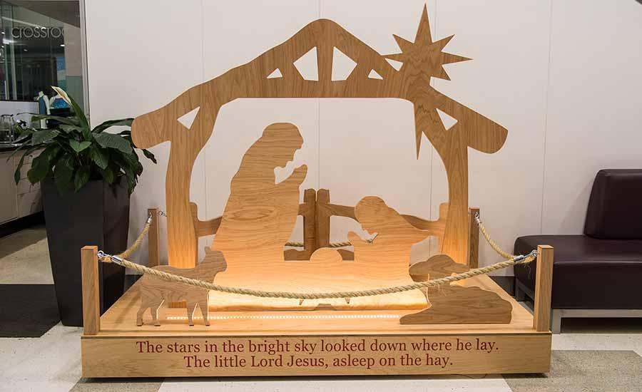 Rhodes Shopping Centre Nativity Set