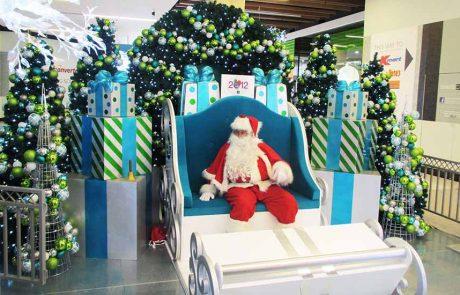 Shellharbour Shopping Mall Santa Set