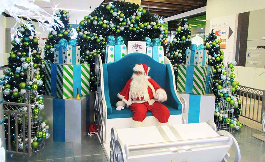 Shellharbour Shopping Mall Santa Set