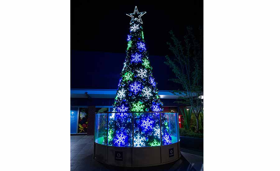 Shellharbour Shopping Mall Outdoor Christmas Tree