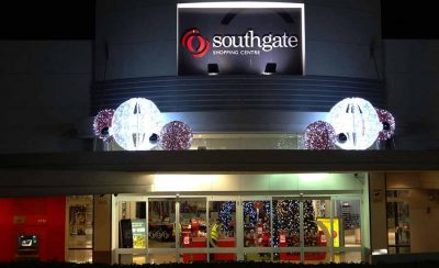 Southgate Shopping Centre Christmas Decorations