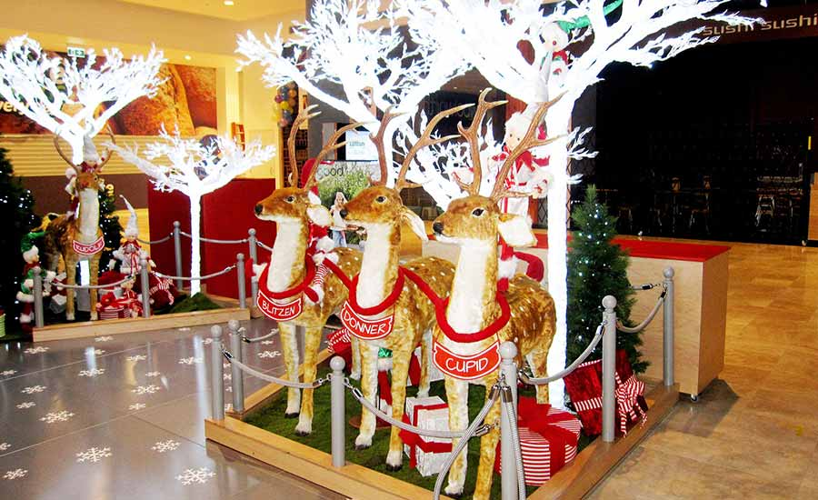 woodgrove shopping mall christmas decorations - Mall Christmas Decorations