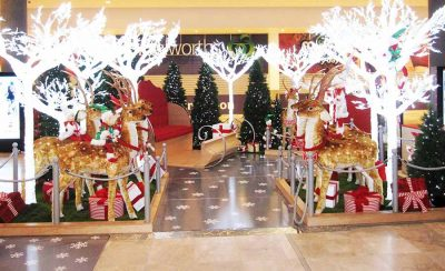 Woodgrove Shopping Mall Christmas Decorations